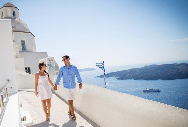 Roteiro romântico pela Grécia