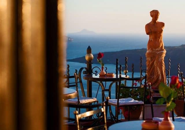 Melhores bares e pubs em Santorini