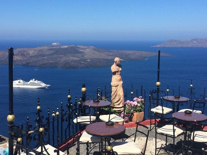 PK Cocktail Bar em Santorini
