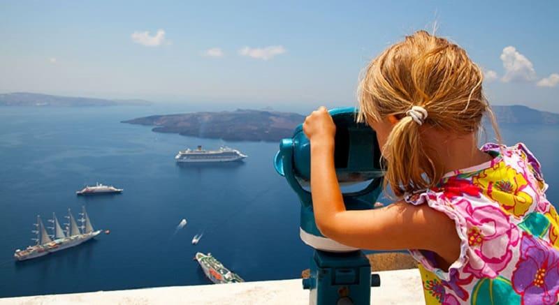 O que fazer com crianças em Santorini