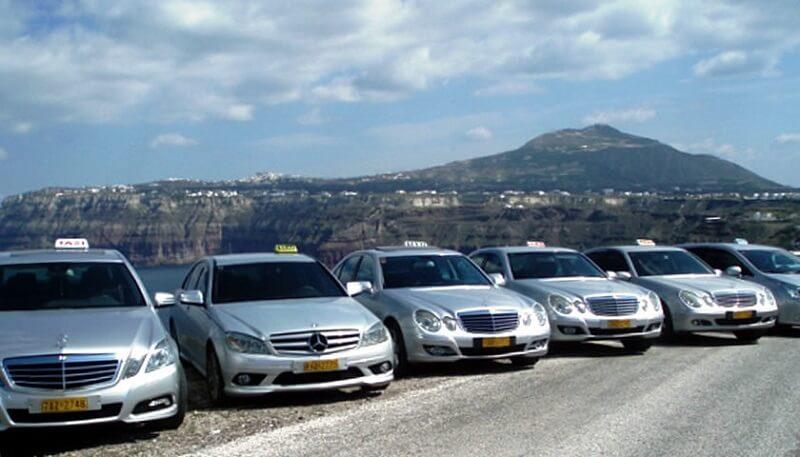 Táxi na Grécia
