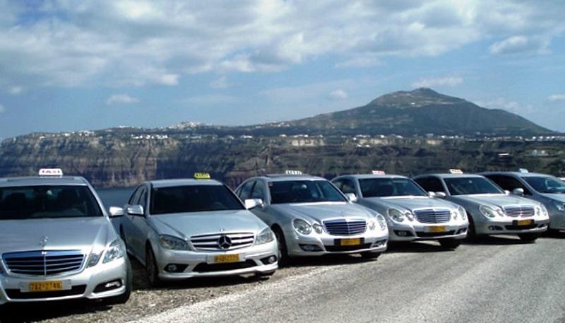 Táxi em Creta
