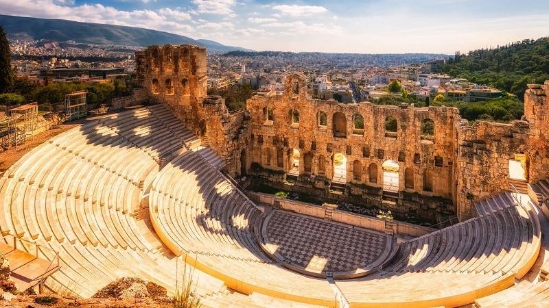 Teatro Herodes em Atenas