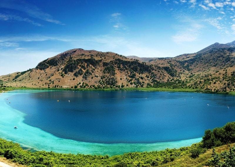 Lago Kournas em Creta
