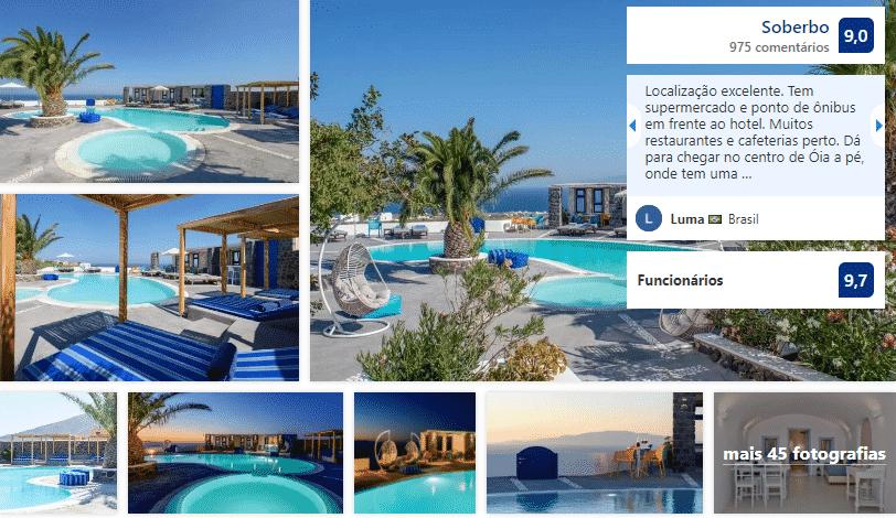 Hotel Anemomilos em Santorini
