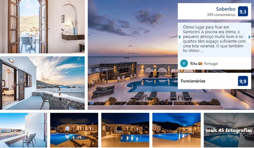 Hotel Agia Irini em Santorini