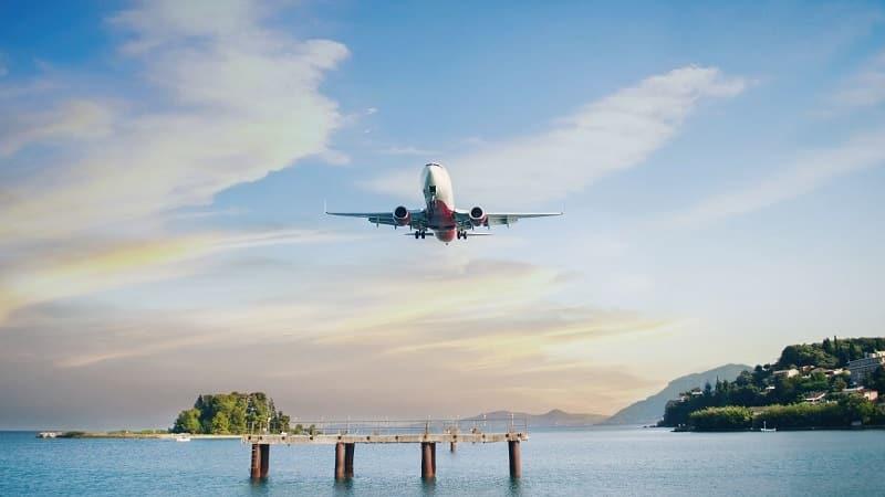 Avião para a Grécia