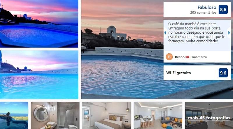 Belle Etoile Villas em Santorini