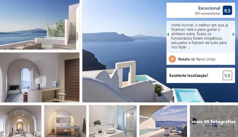 Canaves Oia Suites & Spa em Santorini