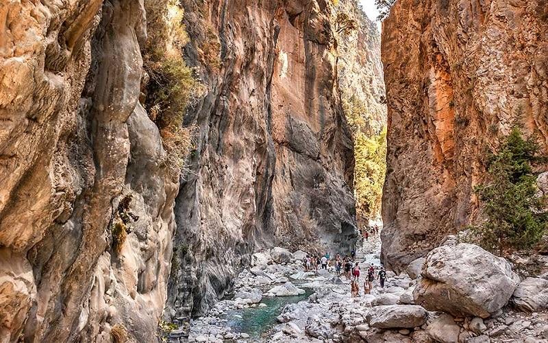 Cânion Samaria, Creta