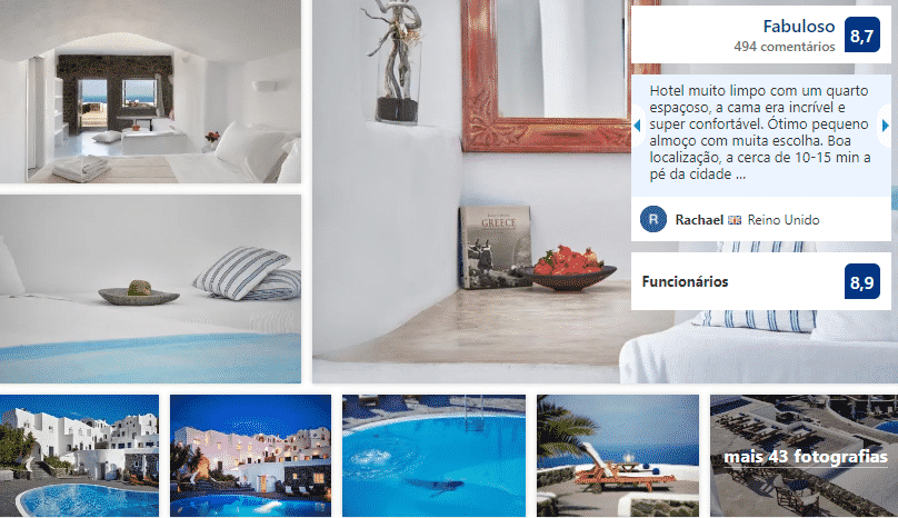 Finikia Memories Hotel em Santorini