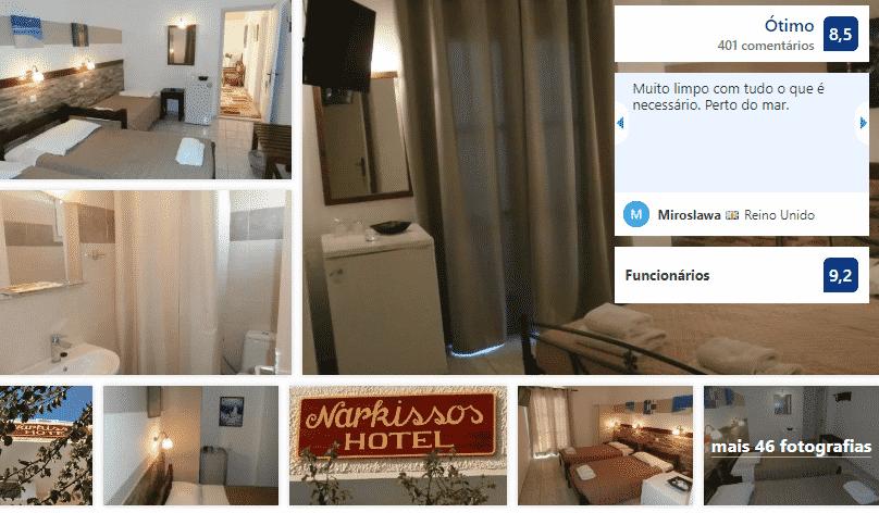 Narkissos Hotel em Santorini