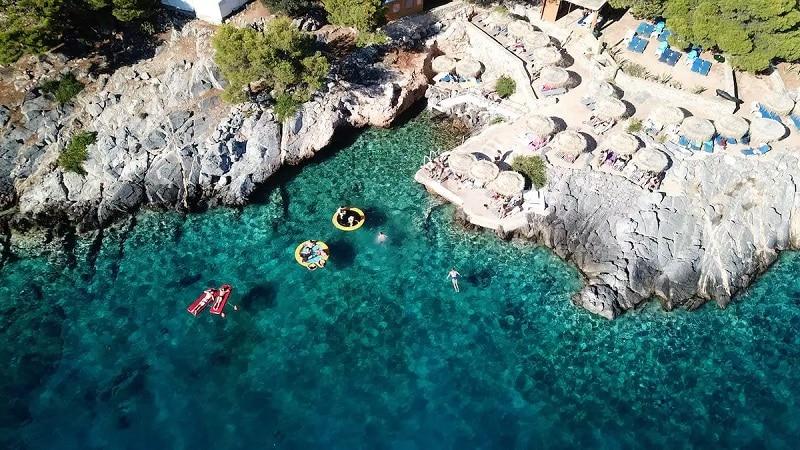 Mar das ilhas gregas
