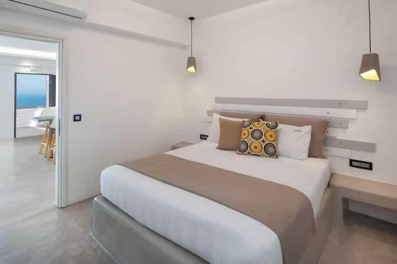 Quarto do Belle Etoile Villas em Santorini
