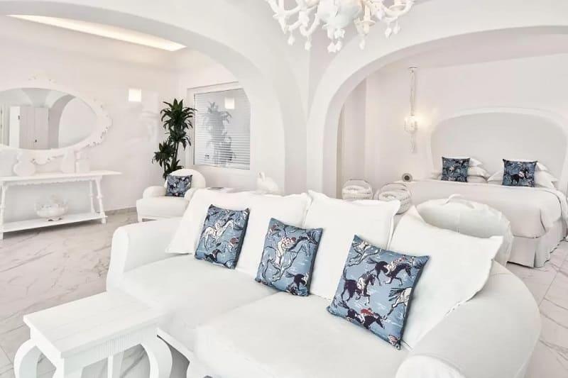 Quarto do Canaves Oia Suites & Spa em Santorini