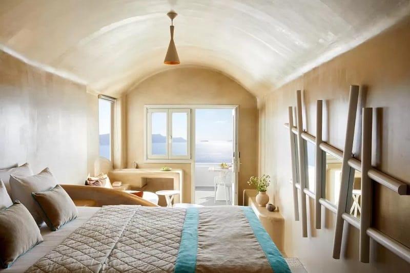 Quarto do La Perla Villas and Suites em Santorini