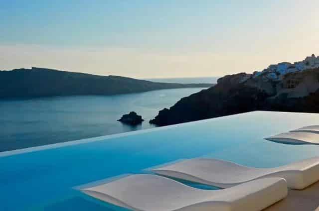 Hotéis de luxo em Santorini