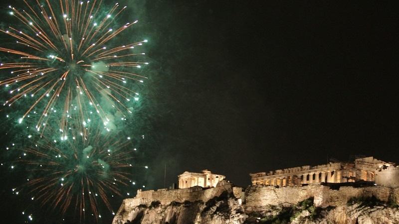 Ano-novo na Grécia