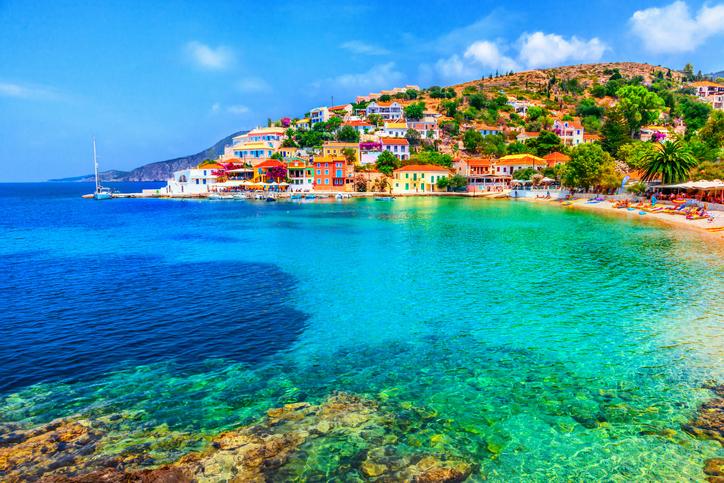 Cefalônia na Grécia
