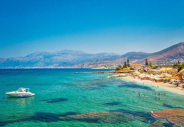 Pontos turísticos em Creta