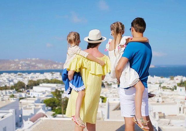O que fazer com crianças na Grécia
