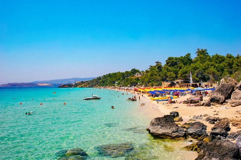 Makris Gialos Beach, em Cefalônia
