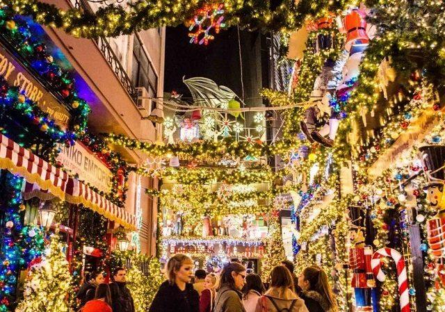 Natal na Grécia