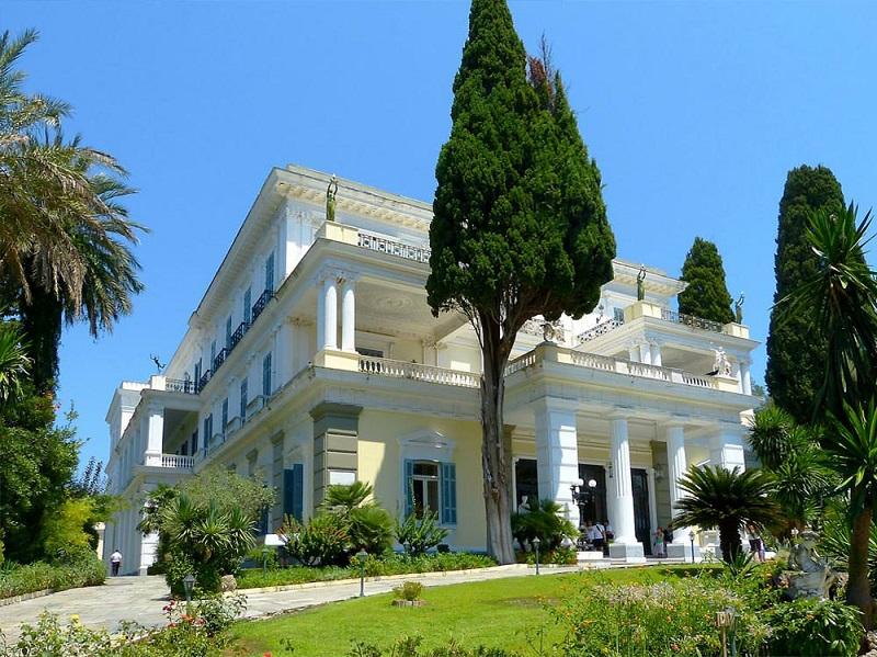 Palácio e jardim de Achilleion