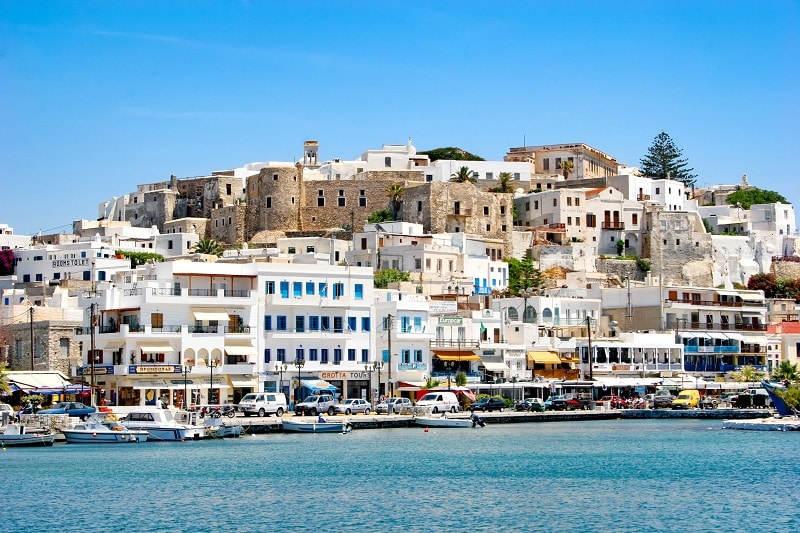 Chora, em Naxos