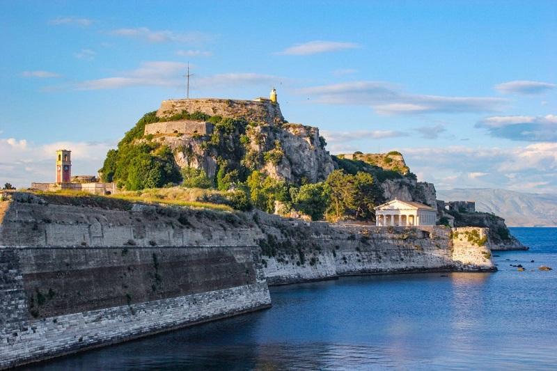 Velha Fortaleza em Corfu
