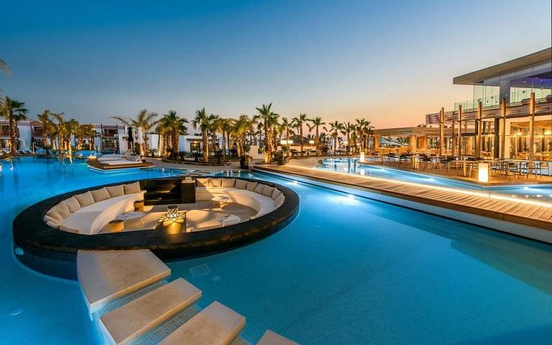Hotel de luxo na Grécia