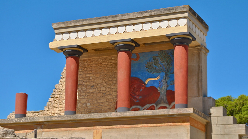 Museu a céu aberto em Creta