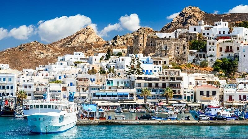 Ilha de Naxos, na Grécia