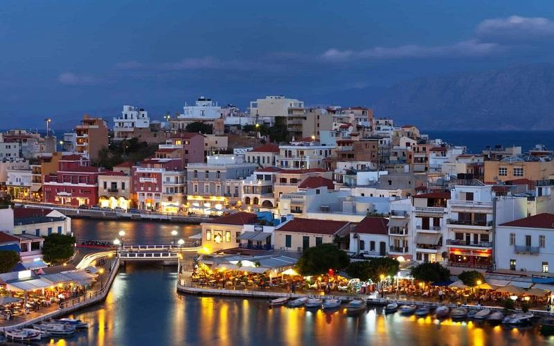 Noite em Creta