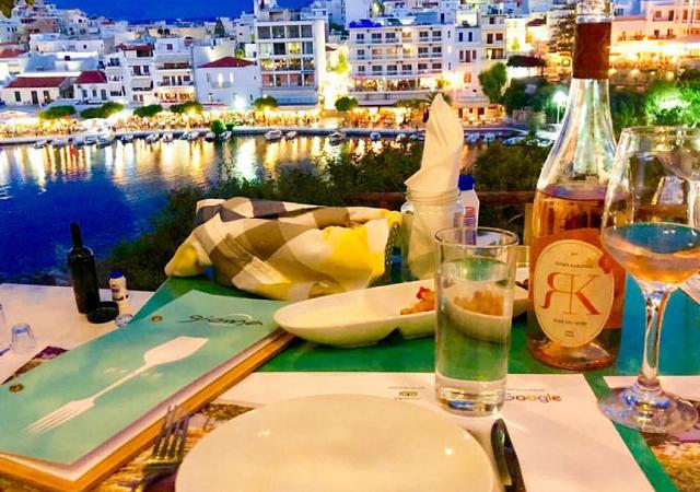 Melhores restaurantes em Creta