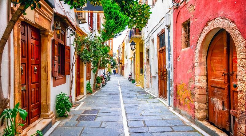 Rua em Creta