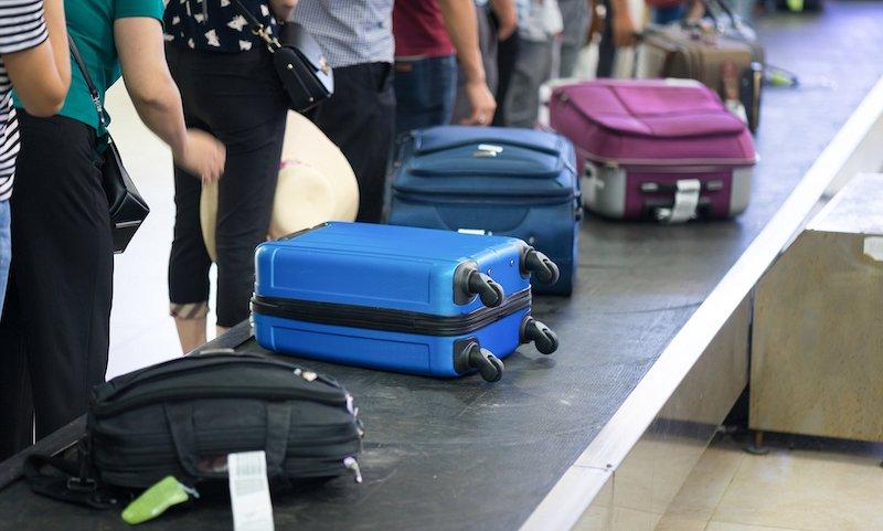 Bagagens de viajantes