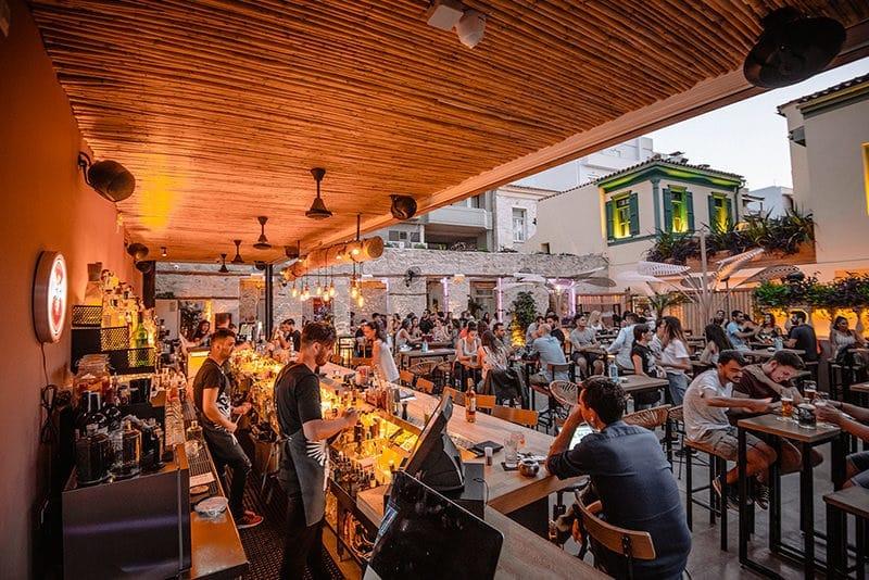 Xalavro Cocktail Bar em Creta