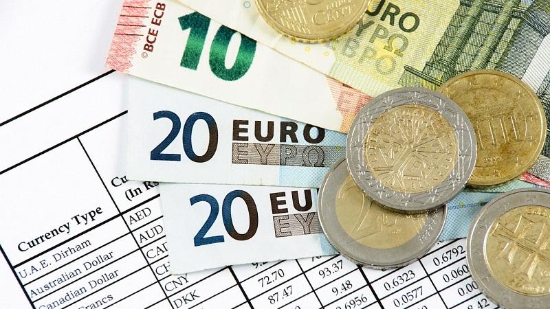 Câmbio dos euros