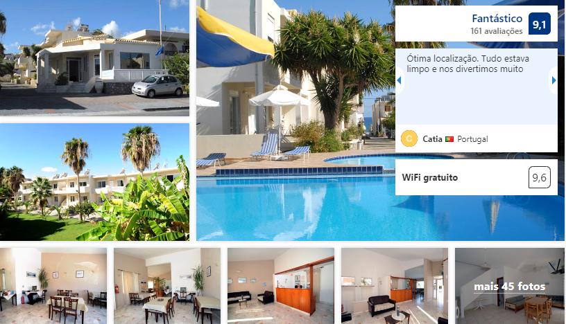 Evilion hotel em Creta