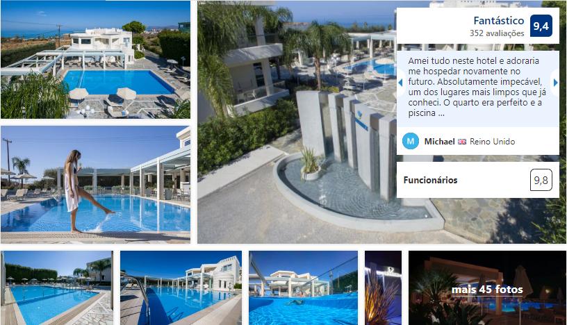 Kedrissos Hotel em Creta