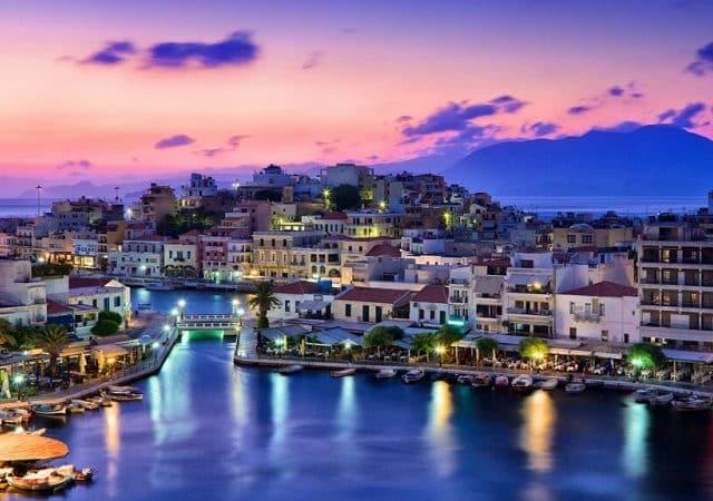 O que fazer à noite em Creta