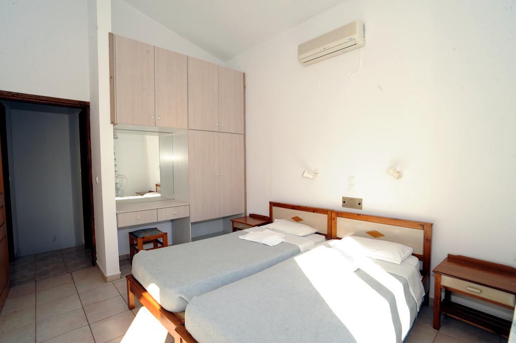 Quarto do Evilion hotel em Creta