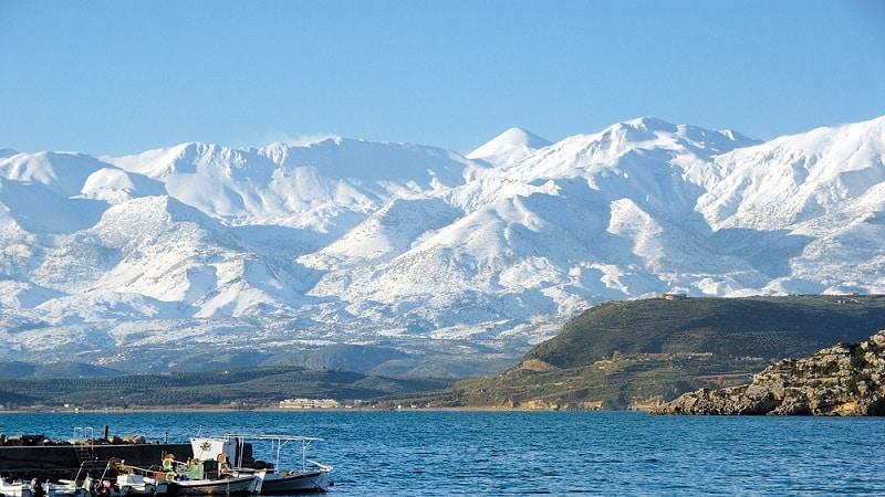Como é e o que fazer no inverno em Creta