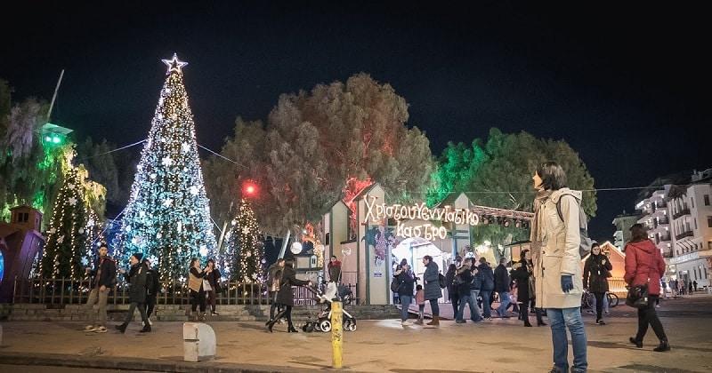 Mercado de Natal de Heraklion