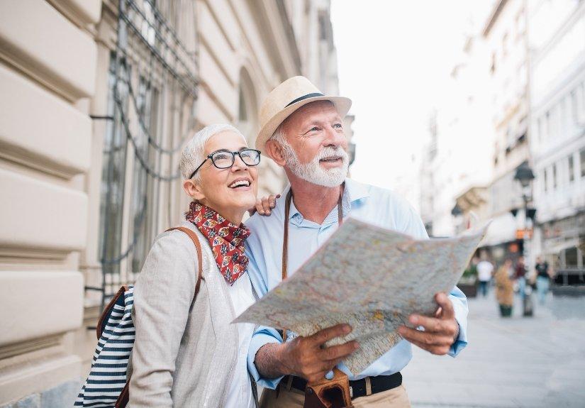 Melhor idade 60+ na Grécia
