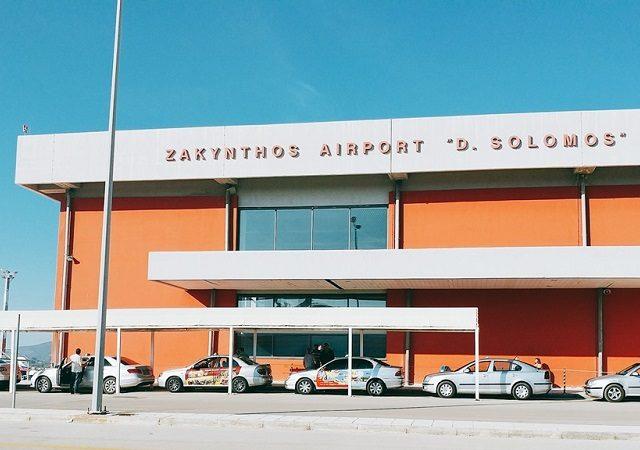 Como ir do aeroporto de Zakynthos até o centro