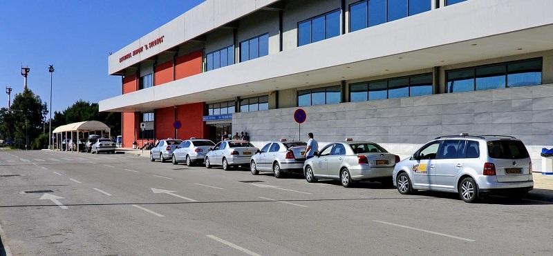 Do aeroporto até o centro de Zakynthos de táxi
