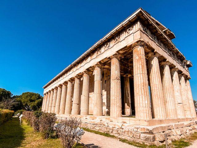 Ágora de Atenas e Ágora Romana em Atenas