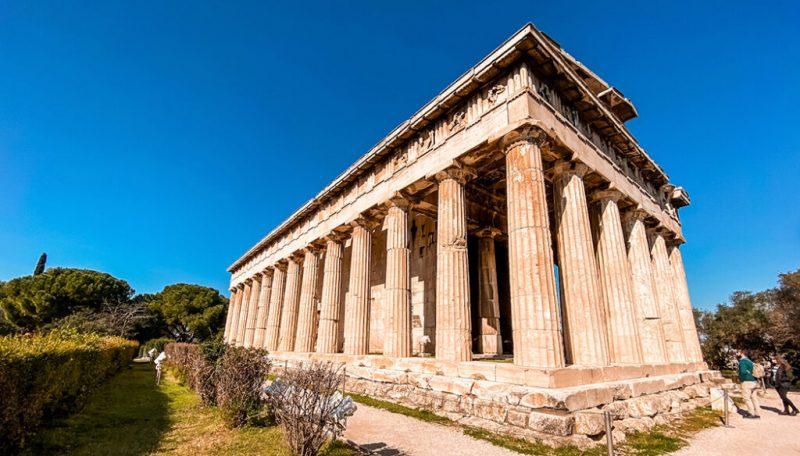 O que fazer no bairro de Plaka em Atenas: Ágoras